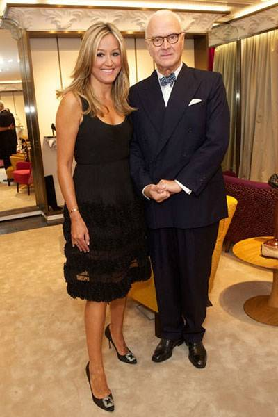 Marigay McKee and Manolo Blahnik