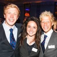 Charley Middleton, Emma Hardy and Bruno Vanderstichele