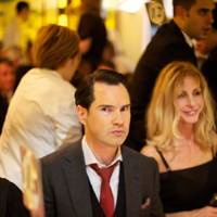 Jimmy Carr and Lisa Bentinck