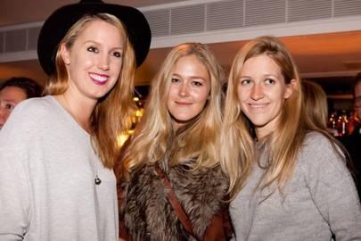 Olivia von Halle, Bella Dickie and Calandra Caldecott