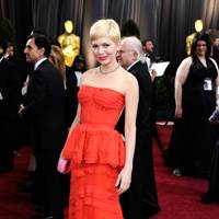 Michelle Williams wearing Louis Vuitton in 2012