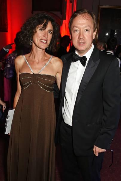 Francesca Vinti and Geordie Greig