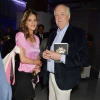 Martha Fiennes and Sir Tim Rice