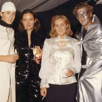 Lord Lovat, Poppy Fraser, Zara van Cutsem and Max Konig