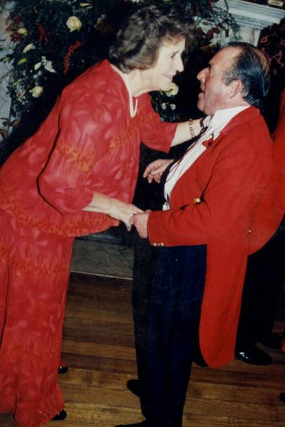 Mrs Christopher Mordaunt and Sir Philip Payne-Gallwey