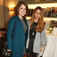 Princess Eugenie and Irene Forte