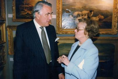 Harry Robertson and Mrs Robert White