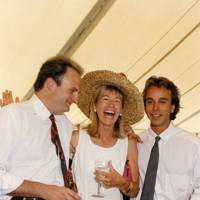 The Hon Jason Cooper, Mrs Edward Bonham-Carter and Michael Letner