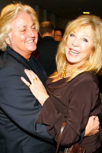 David Emanuel and Pattie Boyd