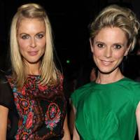 Donna Air and Emilia Fox