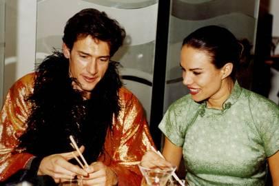 Geoffrey Moore and Mrs Henry Dent Brocklehurst