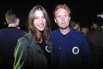 Jessica Warren and Luke Tipping