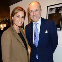 Yasmin Le Bon and Dylan Jones