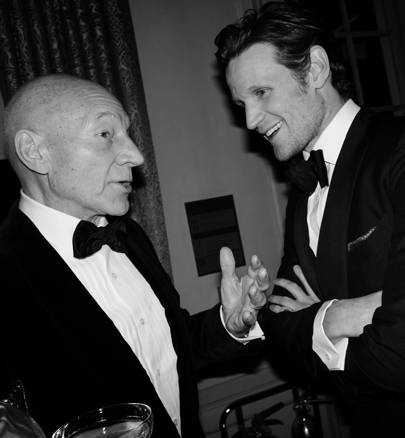 Sir Patrick Stewart and Matt Smith