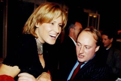 Mrs Simon Sebag-Montefiore and Andrew Roberts