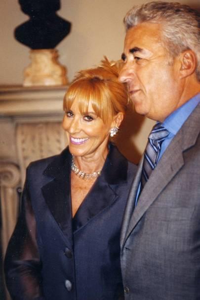 Mrs David Morris and David Morris