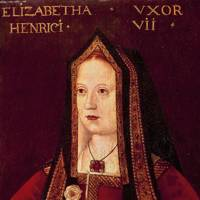 Elizabeth of York, wife of King Henry VII