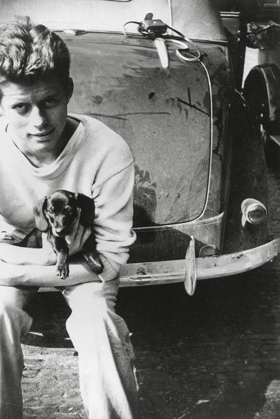 John F Kennedy by an unknown photographer, 1949