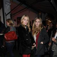 Cara Delevingne and Mary Charteris
