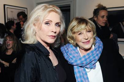 Marianne Faithfull and Debbie Harry