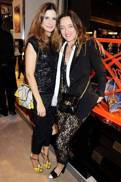 Livia Firth and Alice Temperley