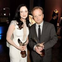 Andrea Riseborough and Toby Jones