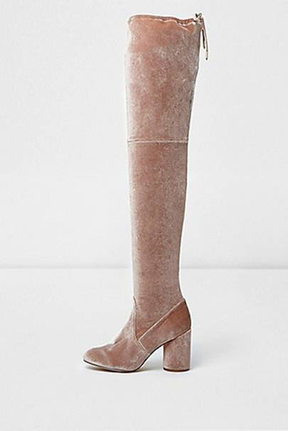 River Island thigh-high boots