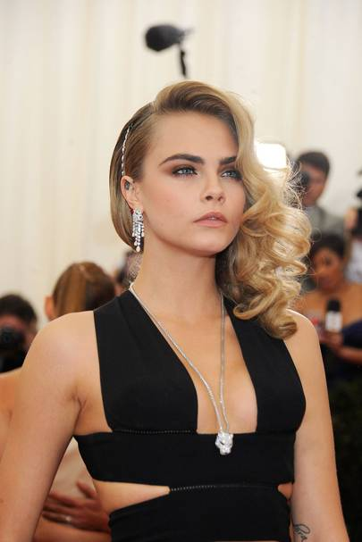Cara Delevingne in Cartier