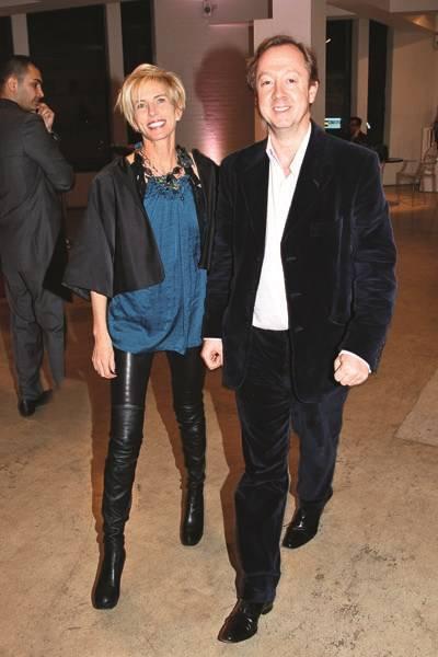 Brooke de Ocampo and Geordie Greig
