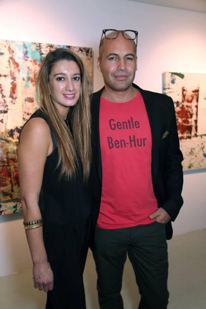 Rachelle Lunnon and Billy Zane