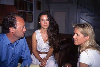 Andrew Bengough, Koo Stark and Liz Moberly