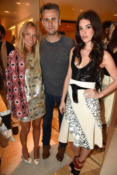 Martha Ward, Richard Bacon and Gala Gordon