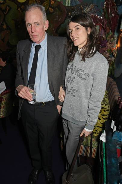 James Fox and Bella Freud