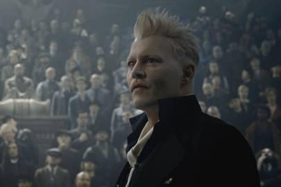 Johnny Depp como Gellert Grindelwald