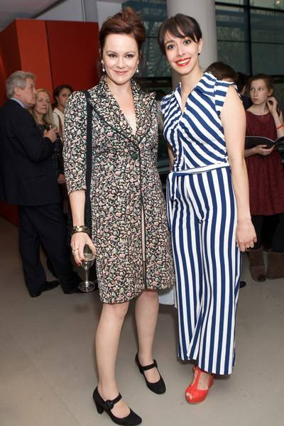 Rachael Stirling and Oona Chaplin