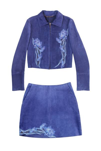 Jacket and skirt, POA, by Blumarine