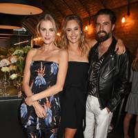 Donna Air, Suki Waterhouse and Jack Guinness