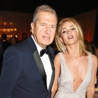 Mario Testino and Rosie Huntington Whiteley