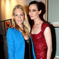 Poppy Delevingne and Erin O'Connor