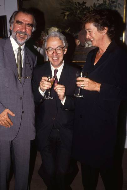 Marc Blondeau, David Ellis-Jones and Mrs David Ellis-Jones