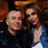 Julien Macdonald and Sheeva Moshiri