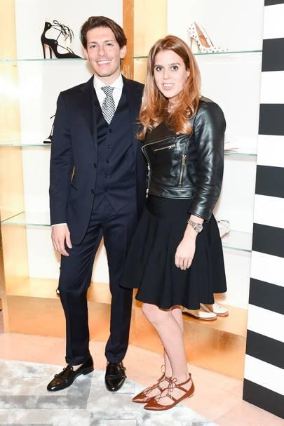 Princess Beatrice and Edgardo Osorio