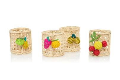 Mercedes Salazar napkin rings