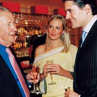 Sir Terence Conran, Anita Patrickson and Edward Taylor