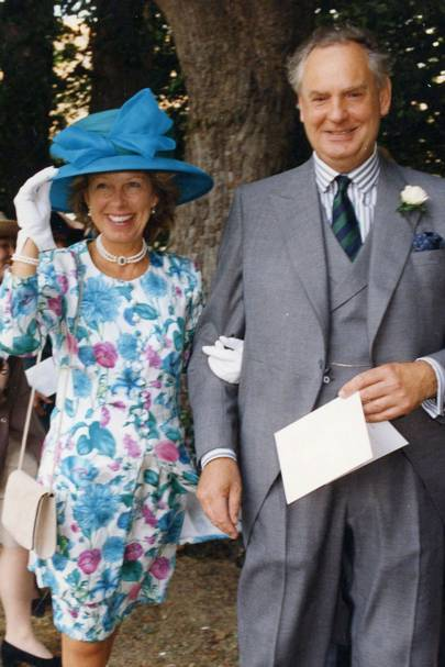 Mrs Simon Ward and Simon Ward
