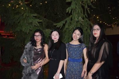 Hailey Zhong, Rose Zhao, Vicki Li and Christine Sun