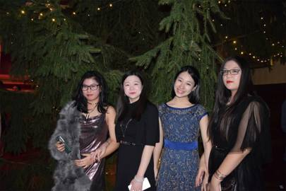 Hailey Zhong, Rose Zhao, Vicki Li and Christine Sun