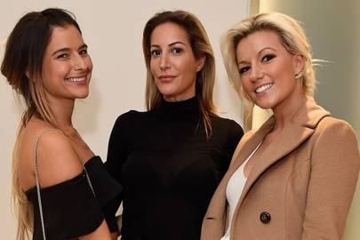 Lara Fraser, Laura Pradelska and Natalie Coyle