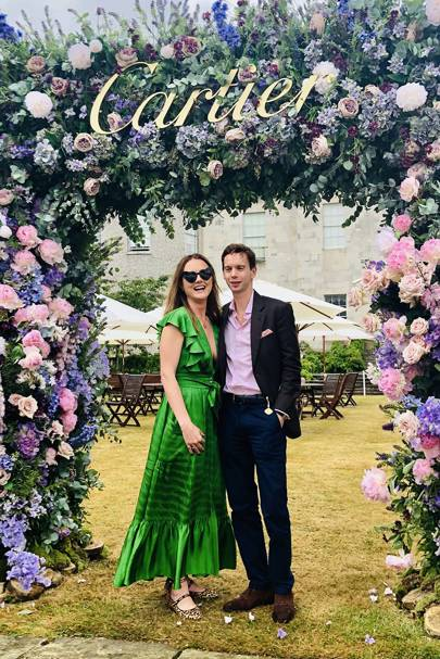 Louisa Parker Bowles and Sam Parker Bowles