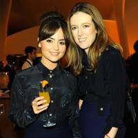 Jenna-Louise Coleman and Clare Waight Keller
